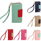 For Samsung Galaxy iphone New real Leather Wallet Flip Mobile Phone Case Cover