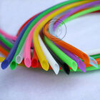 Food Grade Inner 6mm Outer 8mm Silicone Tube Hose Pipe Black/Blue/Red/Green lot