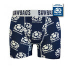 BAWBAGS NEW Men's Official Scotland Rugby Boxer Shorts BNIB