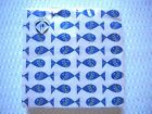 Mesafina Napkins Luncheon or Cocktail size FISH Theme 20 count ~ 3 ply ~ Germany