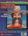 Walrus Moustache Wild West Fancy Dress Halloween Costume Accessory 3 COLORS