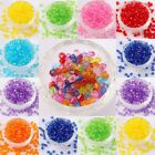 500pcs Wholesale Candy Color Acrylic Bicone Shaped Faced Spacer Beads For you
