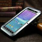 LOVE MEI Military Drop Protection Gorilla Glass Metal Case Cover For Cell Phones