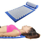 acupressure pillows - Acupressure Mat and Pillow Set for Back/Neck Pain Relief and Muscle Relaxation