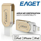 EAGET i80 32G 64G 128GB Metal USB 3.0 OTG Flash Drive iOS iPhone iPad Encryption