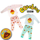 CBEEBIES BBC OFFICIAL HEY DUGGIE GIRLS BOYS PYJAMAS COTTON KIDS BABY NIGHTWEAR