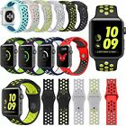Replacement New Silicone Sports Band Bracelet iWatch Strap For Apple Watch 2 /1