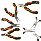 Mini Crafts & Jewellery Making Beading Tool Wire Cutter Round & Flat Nose Pliers