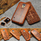 Natural Wood Bamboo Phone Case For Samsung GALAXY S6 Edge / S5 / G9006V Cover