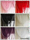 CRYSTAL BEADED Swags/Valance/Voile curtains/Pelmets/SAPPHIRE DESIGN 6 Colours