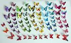 12 Pcs 1layer 3d Butterfly Wall Stickers Art Decal Home Room Decorations Decor