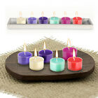 PACK x 18 SCENTED TEALIGHTS CANDLES FLAME TEALIGHT AROMATIC AROMA THERAPY CANDLE