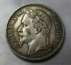 1869 5 Francs Napoleon II Empereur 5 FRANCS Silver Coin | Take a Look | 6242