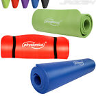 Yoga Mat Exercise Fitness Aerobic Pilates Camping Gym Mats Non Slip 15mm Thick