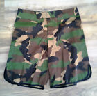 NEW! Mens Fight Shorts - Camo & Black - MMA BJJ UFC Jiu Jitsu Boardshorts