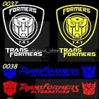 Transformer side Door Engine hood front back windshield car stickers Wall Decals