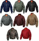Ma-1 Bomber Jacket Flight Coat Air Force Military Reversible Rothco