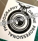 3DR SOLO Drone Photography Professional decal UAV car window die cut vinyl
