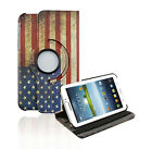 For Samsung Galaxy Tab 3 7.0 Wake Sleep Rotating 360 Case Cover w/ Stand 7 P3200