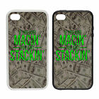 If you aint Macin, You aint Stackin - Rubber and Plastic Phone Cover Case Money