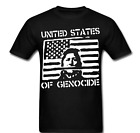 United States of Genocide Government revolution anarchy Tee t-shirt all sizes
