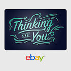 eBay Digital Gift Card - I love you, Thinking of you - Email Delivery