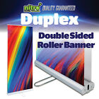 "Superb ""Duplex"" Double Sided Roller Banner Roll Up/Pull Up Exhibition Stand"
