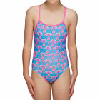 MARU GIRLS FLUTTER PACER SWIMSUIT TURUIOSE BNWT FREE POSTAGE