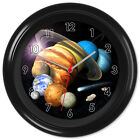 Planets Solar System Space Astronomy Clock #1 - Can be personalised