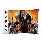 Personalised Halo Large Decorative Pillowcases Gifts Kids Children's