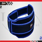 """Men's Weight Lifting Belts Gym Fitness Back Support Exercise 5"""" Wide Belt Blue"""