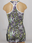 NEW LULULEMON Cool Racerback Tank Top 4 6 8 10 12 Floral Sport White Multi Gym