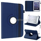 """US For Lenovo Tab 2 /Tab 3 7"""" 8"""" 10"""" Tablets Rotate Universal Leather Case Cover"""