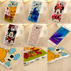 Cute Mickey & Minnie Cartoon TPU Soft Back Case Cover For Samsung Galaxy Note 5
