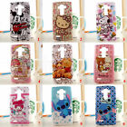 Cute HelloKitty & Mickey Mouse Cartoon TPU Soft Back Case Cover For LG G3 & G4