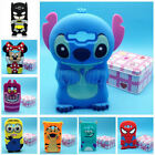 3D Disney Cartoon Silicone Back Case Cover For Samsung Galaxy J1 & J100 Phone