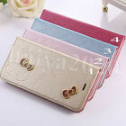 Silk Grain HelloKitty PU Leather Wallet Case Cover For Apple iPhone 6/6S &6 Plus
