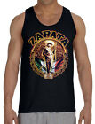 Men's Zapata Mexico Flag Black Tank Top Mexican Revolution Protest Muscle Tee