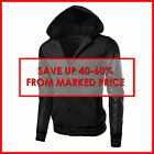 FashionOutfit Men's Faux Leather Varsity College Baseball Detachable Hood Jacket