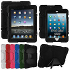 "For iPad 2 3 4 & mini 1 2 3 ""Waterproof"" Shockproof Heavy Duty Case Cover Kids"