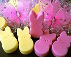 Wax Tart Melts 8 oz 10 pc Easter Bunnies Candles 250 Scents - Pick Your Favorite