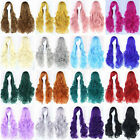 New Fashion Women's Wig Multi-Color Long Wavy Curly Cosplay Party Wigs 80cm/32""