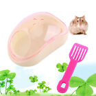 New Small Animal Hamster Sauna Sand Bath Room Bathing Bathroom Potty Plastic