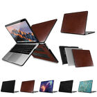 "PU Leather Coated Hard Case Cover for Newest MacBook Pro 13"" 2016 A1706 A1708"