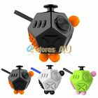 12-Side Magic Fidget Cube Anti-anxiety Adult Stress Relief Focus Kids Toy Gifts