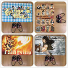 Fairy Tail Anime Manga Cute Velboa Floor Rug Carpet Room Doormat Non-slip Mat