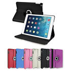 360 Degree Smart Leather Rotating Case Cover Stand For Apple iPad 6 Air 2