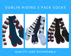 Gorgeous and Affordable Dublin 3 Pack Riding Socks