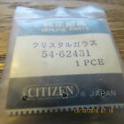 Citizen Crystron LCD face with glass crystal NOS