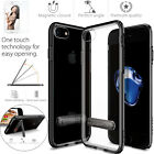For iPhone 7&7 Plus Case Shockproof Amor Hybrid Rubber TPU Hard Cover Kcik Stand